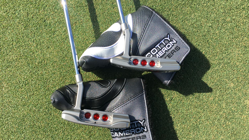 2018 Select Newport 2 and Newport Tour putters.