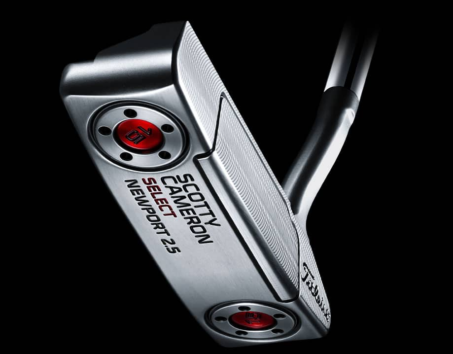 Scotty Cameron 2016 Select Newport 2.5 milled putter face sole