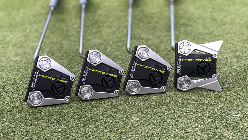 Scotty introduced new prototype mallets this week at the Sony Open.