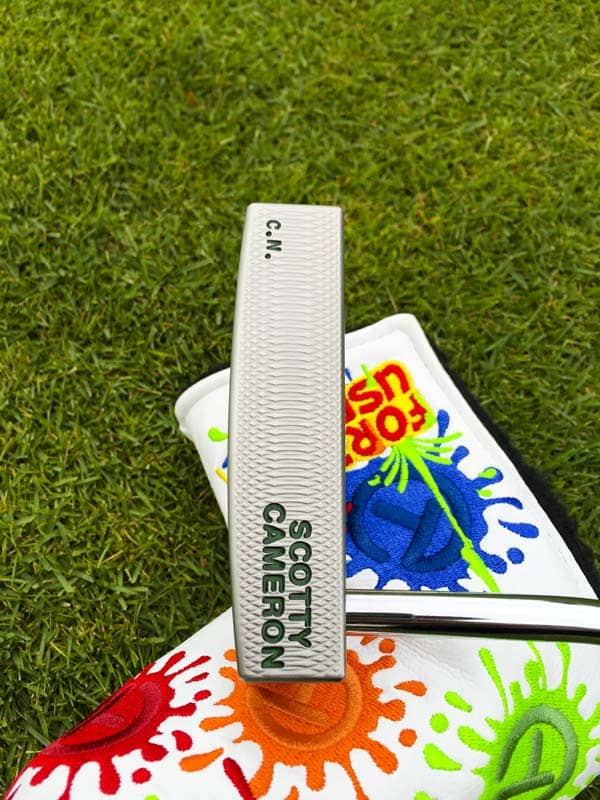 Tour Only GoLo 5 with Dancing Circle T Paint Splash headcover.