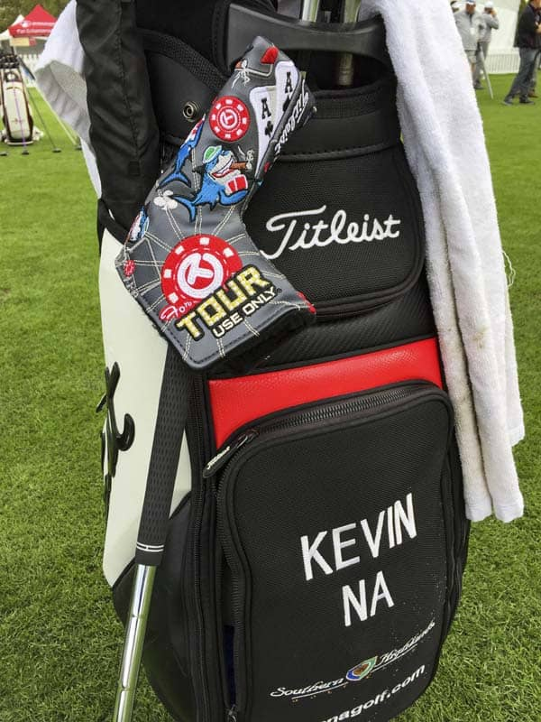 Kevin Na is all-in and ready to roll in Vegas.