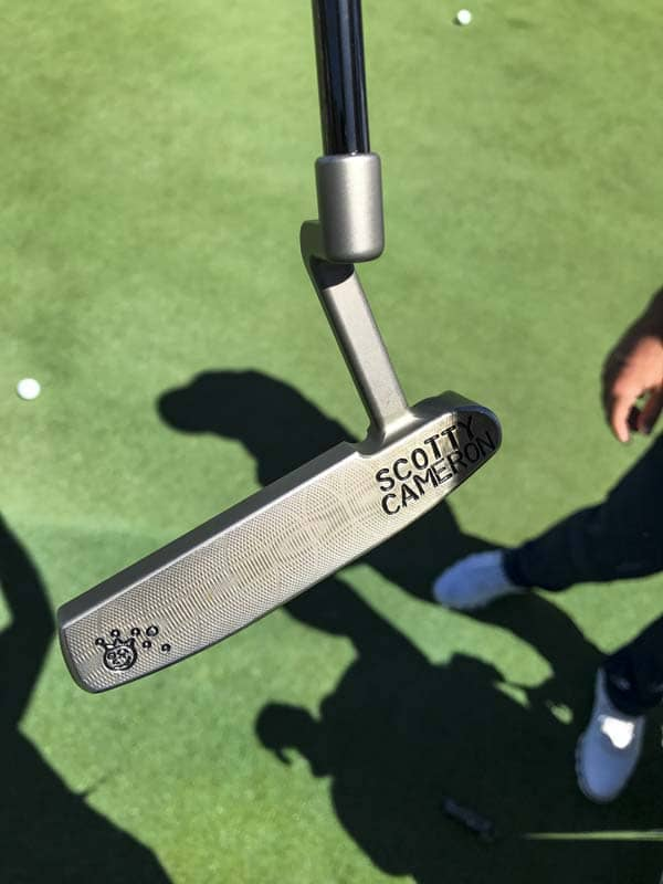 You, too, can have a Jackpot Johnny stamp added to your putter by sending it to Scotty's Custom Shop.